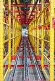 Draagbare transportbandlijn Royalty-vrije Stock Fotografie
