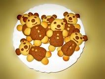 Draagt koekjes Stock Foto