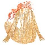 Draai dame-1 Royalty-vrije Stock Fotografie