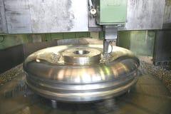 Draai het Draaien Roestvrij staal Stock Fotografie