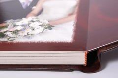 Draai van photobook Stock Fotografie