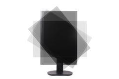 Draaibare lcd monitor Stock Fotografie