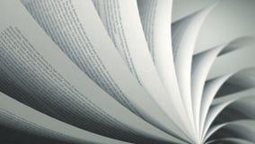 Draaiend Pagina's (Lijn) Engels Boek