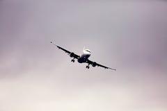 Draaiend vliegtuig Stock Foto's