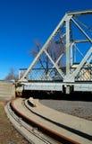 Draaiende brug, Canada. Stock Fotografie