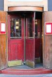 Draaiende deur Royalty-vrije Stock Foto