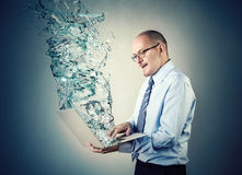 Draaikolk van water royalty-vrije stock fotografie