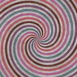 Draaikolk-vormige cirkels, krommen en spiralen, grafisch ontwerp Spiraalvormige textuur stock afbeelding
