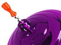 Draaimolen van glasclose-up Royalty-vrije Stock Afbeeldingen