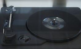 Draaischijf vinylplatenspeler stock fotografie