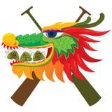 Draak & rijstbolontwerp Stock Afbeeldingen