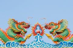 Draak van Chinees Stock Fotografie