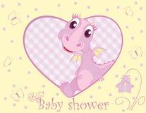 Draak voor babymeisje Stock Afbeelding