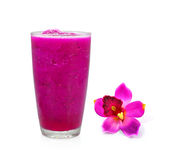 Draakfruit smoothie Royalty-vrije Stock Afbeeldingen