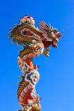 Draakstandbeeld Royalty-vrije Stock Afbeelding