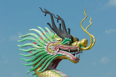 Draakstandbeeld royalty-vrije stock foto's