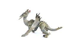 Draakstuk speelgoed Royalty-vrije Stock Afbeeldingen