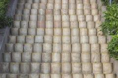 Drabina cementu bloki Zdjęcie Royalty Free