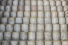Drabina cementu bloki Fotografia Royalty Free