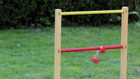Drabina golf bawić się outdoors zdjęcie wideo