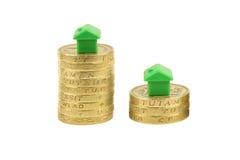 drabina lokalowa rynku nieruchomości zdjęcie stock
