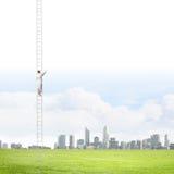 drabina sukcesu marmurowy white Fotografia Stock