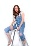 drabinowa kobieta Zdjęcia Stock