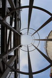 Drabinowa niebo perspektywa Fotografia Stock