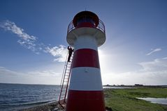 drabinowa wspinaczkowa latarnia morska fotografia royalty free