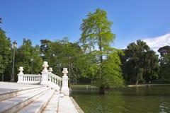 drabinowy jeziora marmuru biel Fotografia Royalty Free