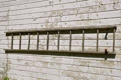 drabinowy stary drewniany Zdjęcia Stock