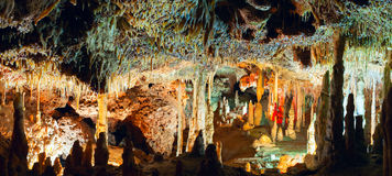 Drach caves in Majorca island, Spain Stock Photography