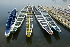 Drache-Boote Lizenzfreies Stockbild