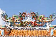 Drache der chinesischen Art Stockbild