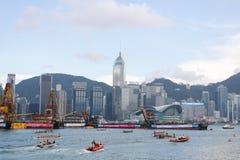 Drache-Regatten 2010 Hong- KongInt'l Stockbilder