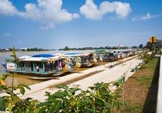 Dracheboot, Vietnam Lizenzfreies Stockfoto