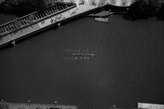 Dracheboot in Melbourne lizenzfreie stockfotografie