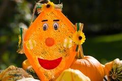 Drachedekoration im Herbst, Oktober Stockfoto
