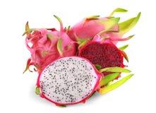Drachefrucht getrennt auf weißem Hintergrund lizenzfreies stockfoto