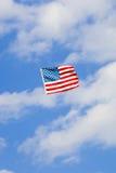 Drachen der amerikanischen Flagge Stockfotografie
