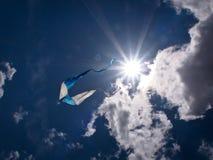 Drachen im Himmel Stockfotografie