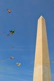 Drachen im Himmel von Gleichstrom Stockbilder