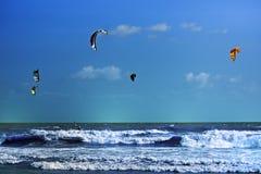 Drachen-Surfen Stockbilder