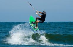 Drachen-Surfen Stockbild