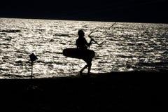 Drachen-Surfer Lizenzfreies Stockbild