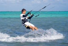 Drachen-Surfer Lizenzfreies Stockfoto