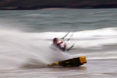 Drachen-Surfer/Kostgänger Lizenzfreie Stockfotografie