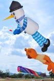Drachen und Ballon Lizenzfreies Stockfoto
