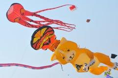 Drachen und Ballon Lizenzfreies Stockbild