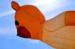 Drachen und Ballon Lizenzfreie Stockfotografie